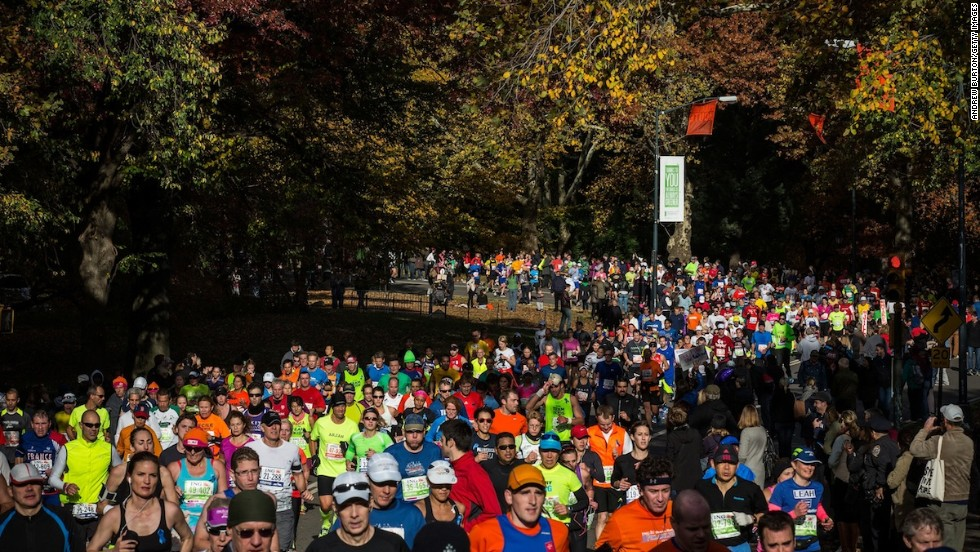 More than a few photos were snapped at this year's ING New City Marathon as runners made their way through Central Park, arguably the world's most famous patch of grass.