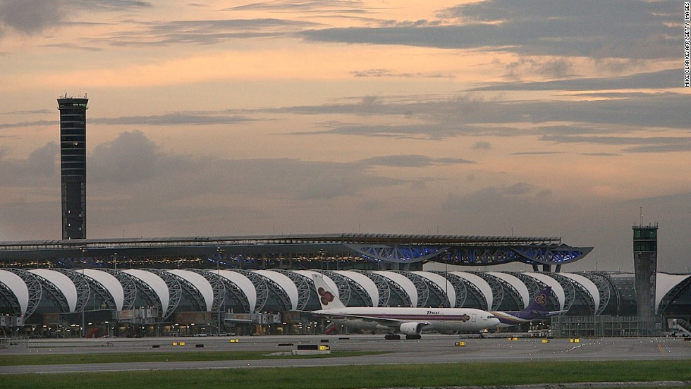 Bangkok's Suvarnabhumi International Airport dropped from first to 9th most Instagrammed place this year. It's the only airport to make the global list.