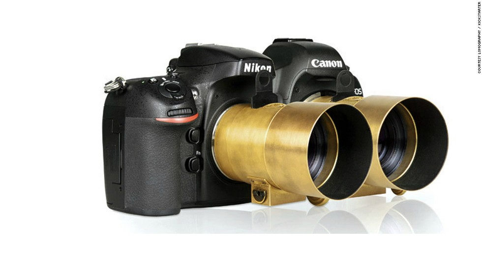 <strong><u>Petzval Lens<strong></strong></u> Pledged: $1,396,149 -- </strong>This tech venture is a reinvention of a lens that dates back to 1840. Since then we have discovered air travel, cars, light bulbs, computers and the internet, yet some photographers believe we are still unable to produce a camera lens that takes nicer portraits than the Petzval. This year Lomography have redeveloped it for use with both digital and analog cameras.