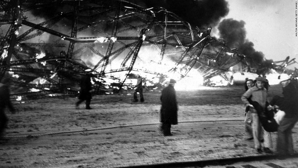 The Hindenberg crash in New Jersey in 1937, which killed 36 people, effectively ended the era of zeppelin aviation. The Luftschiffbau Zeppelin Company recently launched a new model, using nonflammable helium instead of hydrogen.