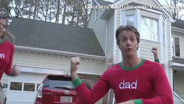 Video Christmas card goes viral