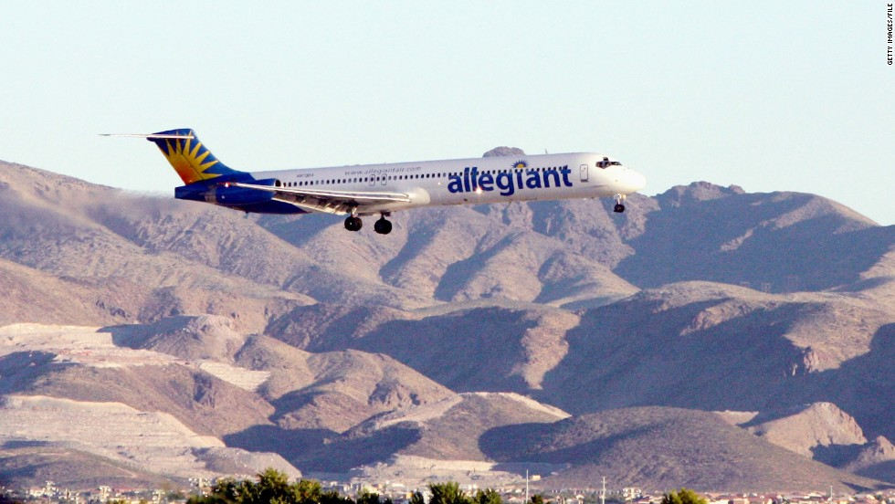 "A man and woman were each fined $250 for allegedly engaging in oral sex in front of passengers on a flight to Las Vegas. ""This is not the sex education I wanted to give my teenage sons,"" said one passenger. The sons were not available for comment."