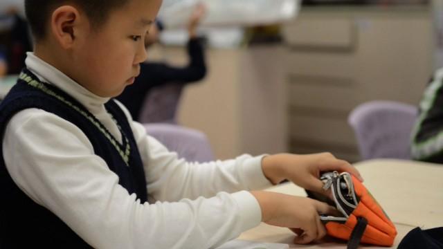 At Y. K. Pao School in Shanghai