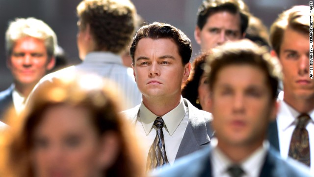 DiCaprio on 'Wolf of Wall Street'