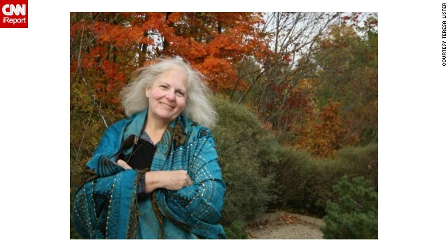 Teresa Lister visits Innis Park near her current home in Ohio.