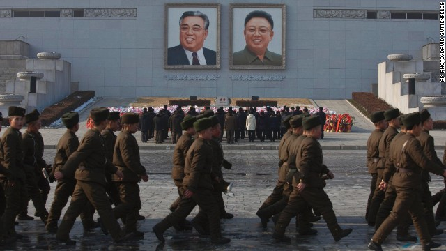 A show of allegiance in North Korea