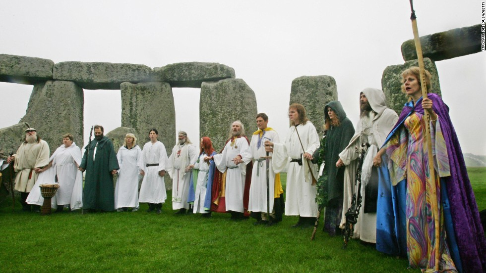 Some among the druids say the transformation of an ancient skeleton into a visitor attraction is disrespectful to its long-dead owner.