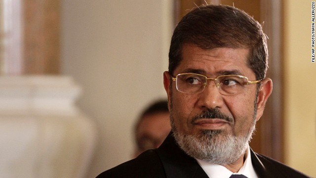 Morsy to judge: Who are you? Where am I?
