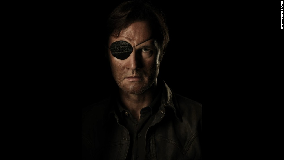 After being stabbed by Michonne, the Governor (David Morrissey) was shot to death by Lilly.