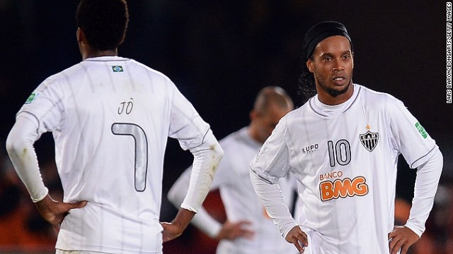 Ronaldinho won the World Cup with Brazil in 2002 and has spoken of his desire to get back into the squad.