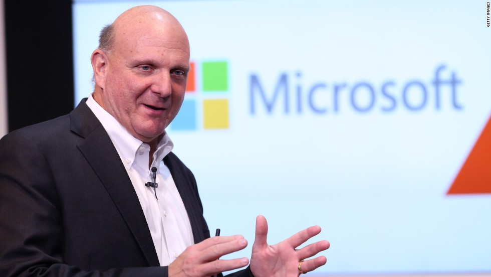 WINNER: Microsoft CEO Steve Ballmer is one of this year's winners after the U.S. software giant took over troubled mobile phone maker Nokia in a $7.2 billion deal. The acquisition marks a coup for Ballmer, who is due to step down next year.