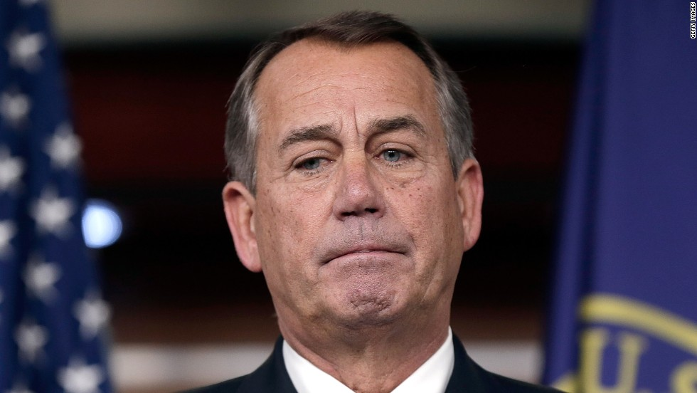 LOSER: Speaker of the U.S. House of Representatives John Boehner is facing heavy scrutiny from lawmakers following a government shutdown in October, the first in 17 years, and a fiscal cliff that twice threatened to derail the U.S. economy.