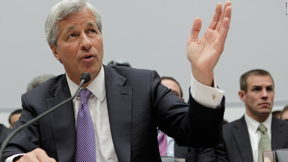 LOSER: Embattled JPMorgan chief Jamie Dimon will be glad to see the back of 2013 after the largest bank in the U.S. agreed to pay $13 billion to the Justice Department to end a probe into its mortgage sales.
