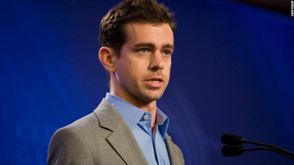 WINNER: After Facebook's botched float in 2012, Twitter co-founder Jack Dorsey saw his company's stock rise 73% in the first day of trading after the micro-blogging site launched an Initial Public Offering [IPO] in November. Dorsey, worth $1.3 billion according to Forbes, now heads up mobile payment start-up Square.