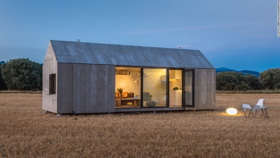 the transportable aph80 home from spanish firm abaton takes between six and eight weeks to build - Micro Home