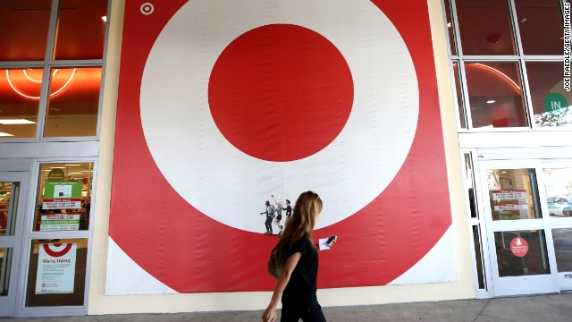 MIAMI, FL - DECEMBER 19:  A Target store is seen on December 19, 2013 in Miami, Florida. Target announced that about 40 million credit and debit card accounts of customers who made purchases by swiping their cards at terminals in its U.S. stores between November 27 and December 15 may have been stolen.  (Photo by Joe Raedle/Getty Images)