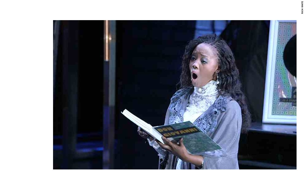 "One of the protagonists of ""Ndiphilela Ukucula: I Live To Sing"" is Linda Nteleza, a powerful soprano who first heard opera while watching a TV commercial."
