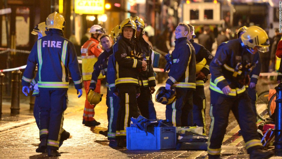 Metropolitan Police said in a tweet that those who were seriously hurt had been taken to hospitals in central London.