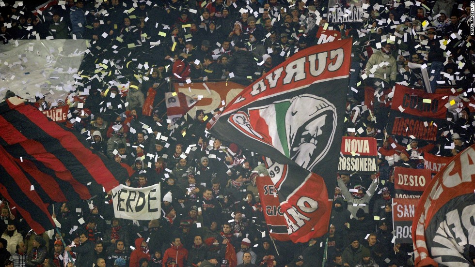 The Milan derby between Inter and AC is one of the stand out fixtures in world football, attracting a fierce atmosphere between city rivals who share the same San Siro stadium.