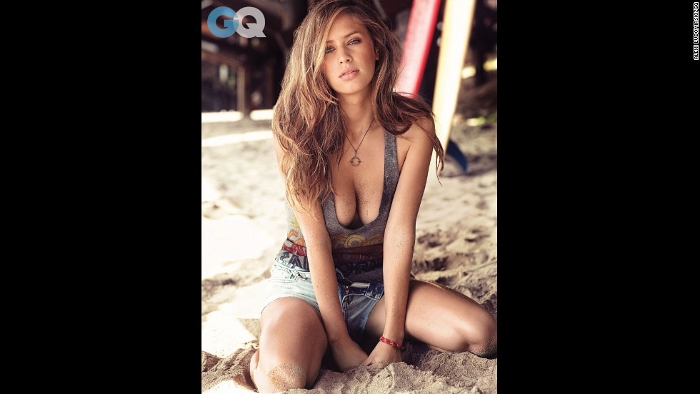 "Does this face look familiar? That's because it's Dylan Penn, the daughter of actors Sean Penn and Robin Wright. Thanks to those stunning genes, Dylan has a side gig as a model -- <a href=""http://www.gq.com/women/photos/201401/dylan-penn-model-january-2014#slide=1"" target=""_blank"">as seen here in GQ</a> -- but she dreams of going into the movie business as a screenwriter."