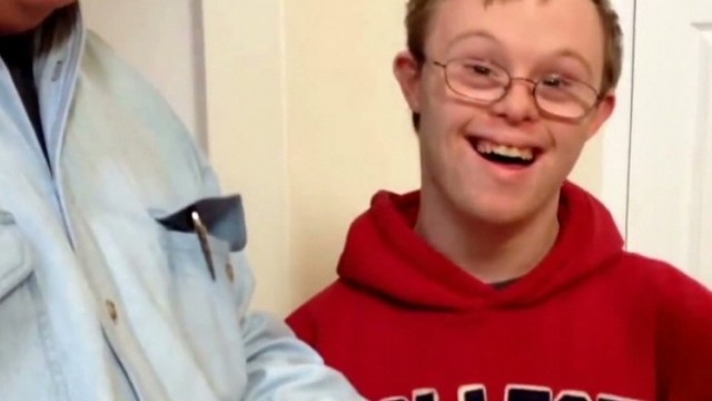 special needs man gets into college Newday Good stuff _00003203.jpg