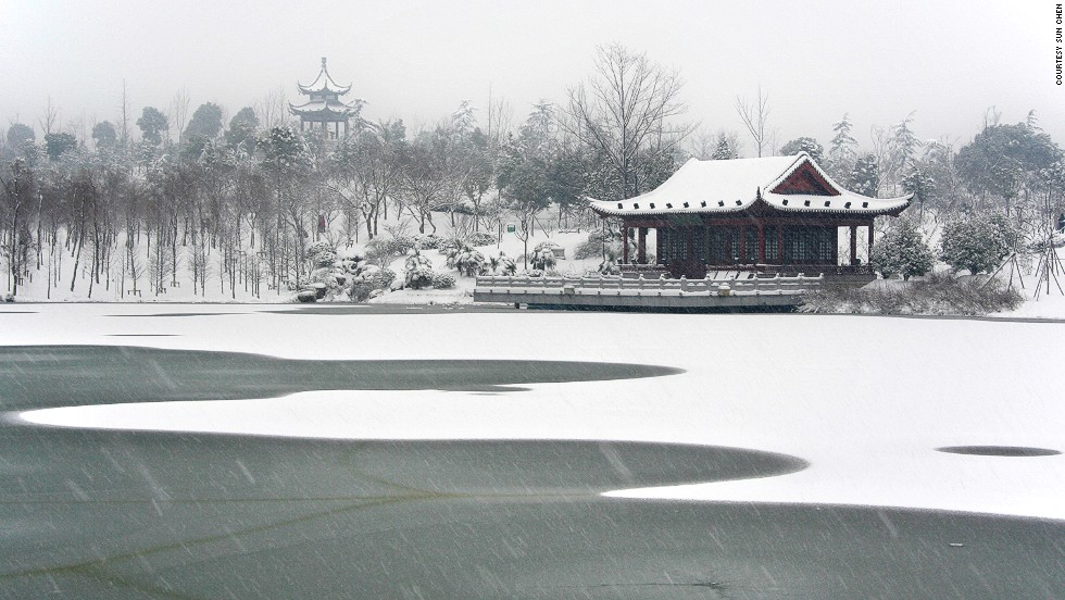 "Sun's picks for best seasonal pics:<br />""In spring, cherry blossoms on Jimingsi Road; in summer, the night scene of Xuewu Lake; in autumn, the classic Stone Elephant Road; winter can be a bit trickier -- it's too cold to go anywhere if it's not snowing, but once it snows, all the attractions come alive. Plum Blossom Hill (pictured with Yan Que Lake) is the first choice for winter, just edging out the Confucius Temple during lunar new year.""<a href=""http://travel.cnn.com/shanghai/visit/nanjing-plum-blossom-festival-208516""><br />READ: Nanjing's plum blossom festival</a>"