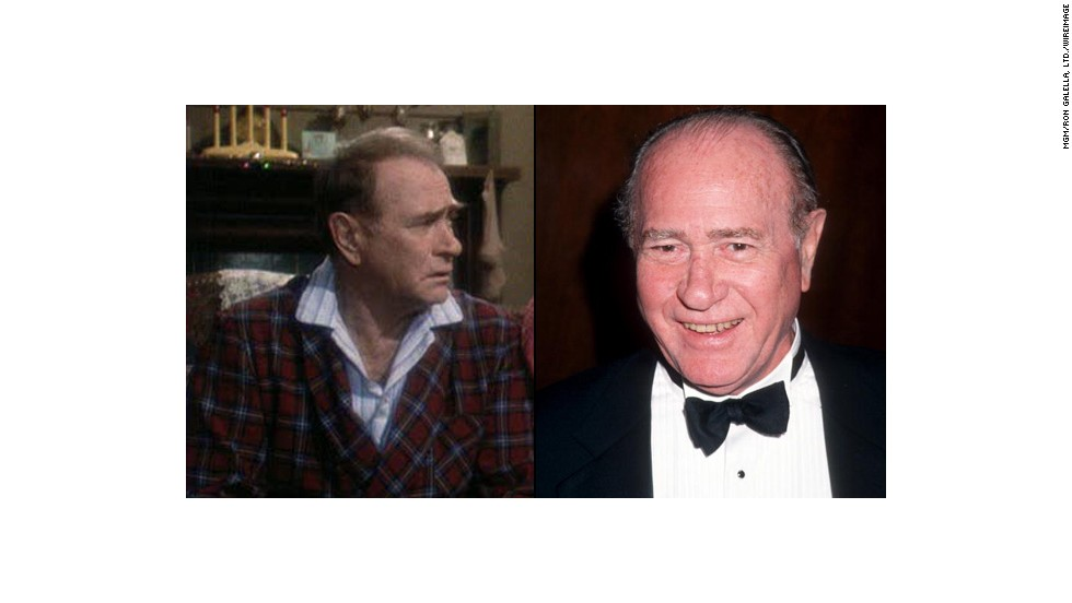 "Darren McGavin was gruff as The Old Man Parker. Before the film, he was known for starring in ""Kolchak: The Night Stalker"" but later made a career playing dads as he did in the film ""Billy Madison"" and on the television series ""Murphy Brown."" He died in 2006 at 83."