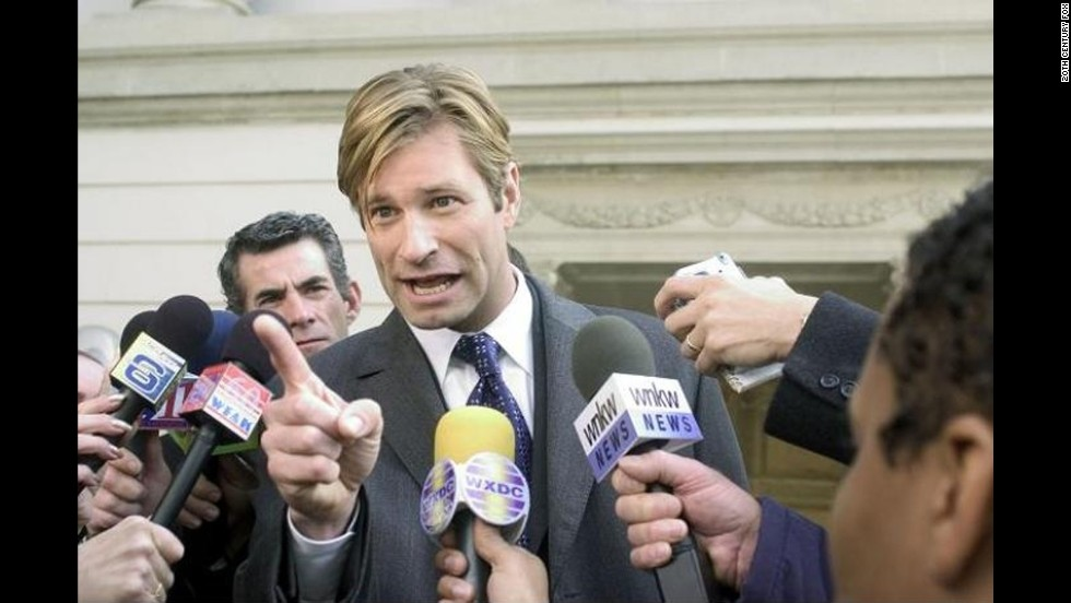 "<strong>Not lobbyists:</strong> Lobbyists, like the one played here by actor Aaron Eckhart in the film ""Thank You for Smoking,"" are actually less popular than Congress. In the Gallup poll, only 6% of people rated lobbyists as having ""high"" or ""very high"" standards when it comes to honesty and ethics. Lobbying is the career many lawmakers choose after retiring from Congress."