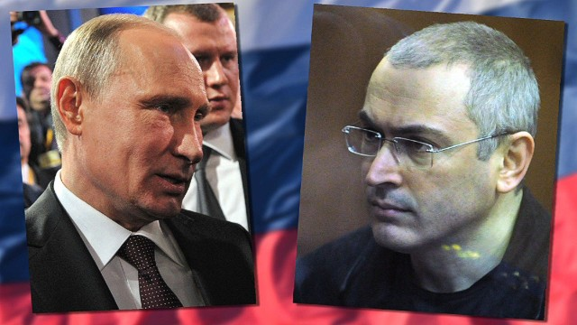 Putin frees jailed rival