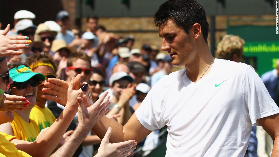 Tomic has also fared well at Wimbledon. In 2011 he became the youngest man since Boris Becker to reach the quarterfinals at the All England Club.