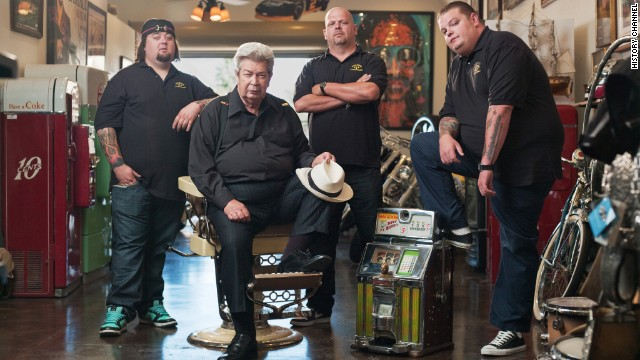 """Pawn Stars"" is one of the History Channel's hit shows."