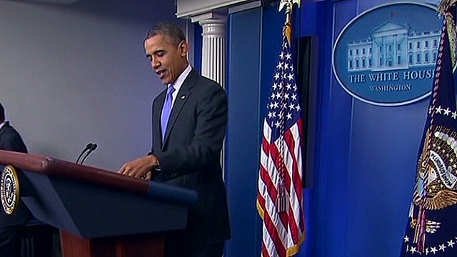 Obama holds year end press conference