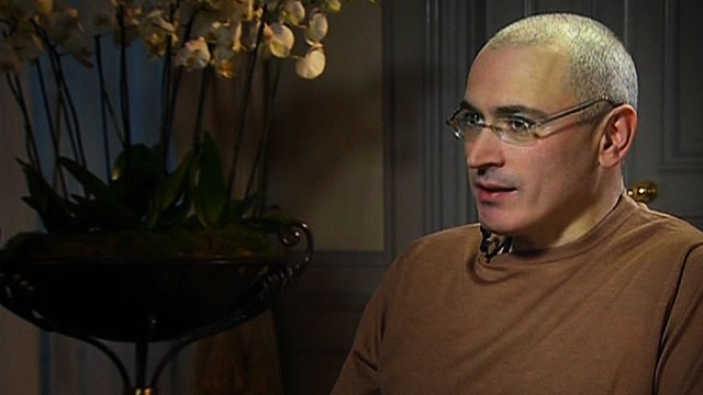 Khodorkovsky: I don't know why I'm free