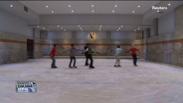 Last Look: Iran's new ice rink