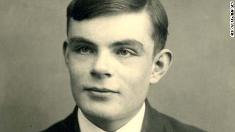 British mathematician Alan Turing, aged 16 in 1928.