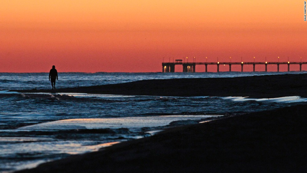 "Enjoy 32 miles of white sand beaches and the fresh seafood found at the <a href=""http://www.gulfshores.com"" target=""_blank"">Alabama Gulf Coast</a> beach towns of Gulf Shores, Fairhope, Orange Beach (shown here) and Dauphin Island. Visitors can soak up the sun during the annual Hangout Music Festival (May 16-18), the National Shrimp Festival (October 9-12) or any time in between."