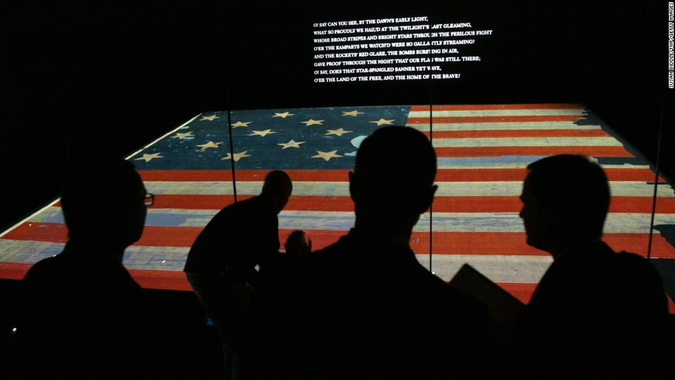 "How could we skip the District of Columbia, even if it isn't a state? The national anthem, ""The Star Spangled Banner,"" turns 200 this year. The <a href=""http://amhistory.si.edu/starspangledbanner/"" target=""_blank"">National Museum of American History</a> plans to celebrate on Flag Day (June 14). No need to wait, however. The almost 200-year-old, 30-by 34-foot flag is on permanent display, and the exhibit explores the making of the flag that inspired the Francis Scott Key song, written in 1814 after the author saw the flag waving above Fort McHenry as British ships were withdrawing from Baltimore."