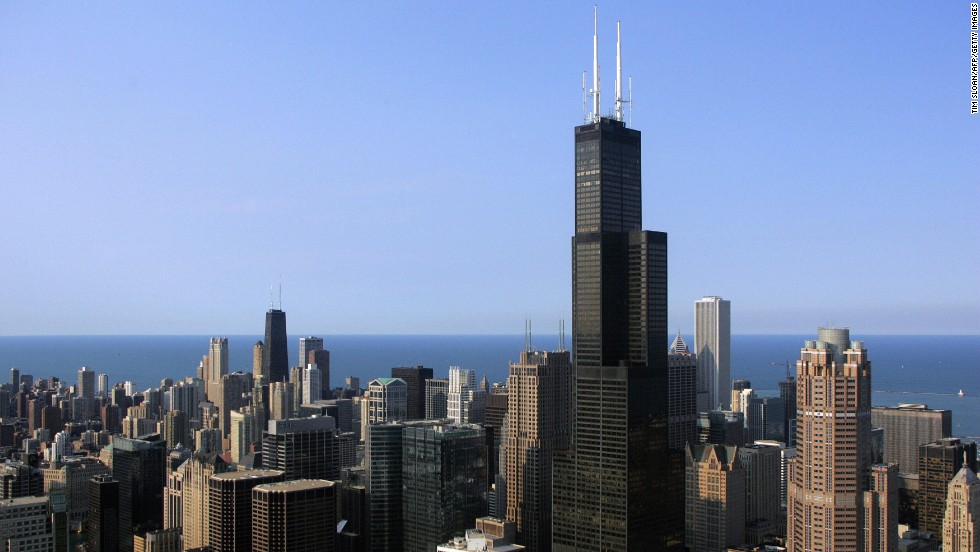 "If you care about tallest building designations, get to the <a href=""http://www.willistower.com"" target=""_blank"">Willis Tower</a> fast. The building (formerly known as the Sears Tower) will be the tallest skyscraper in the United States, at 1,730 feet, until New York's One World Trade Center is completed. Celebrate 40 years of the tower's Skydeck Chicago, which can provide views of up to four states from the 103rd floor. Want more of a thrill? Five years ago, the tower also added the Ledge -- a series of glass boxes extending four feet from the Skydeck. <br />"