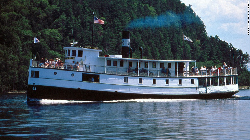 "Ship lovers will enjoy a three- or four-hour cruise on the <a href=""http://www.katahdincruises.com"" target=""_blank"">Katahdin Steamship</a>, a 110-foot boat built by Bath Iron Works in 1914, which marks its 100th anniversary in August with cruises, a birthday party and new museum exhibits. Since being restored in 1995, ""Kate"" operates seasonally on Maine's Moosehead Lake, the state's largest lake."