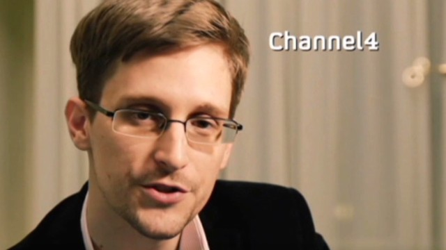 Snowden delivers Christmas message
