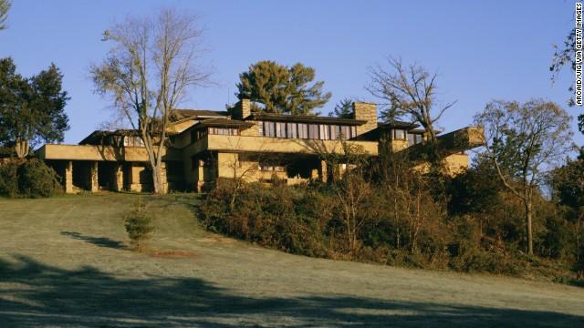 Taliesin: Wright's Wisconsin estate.