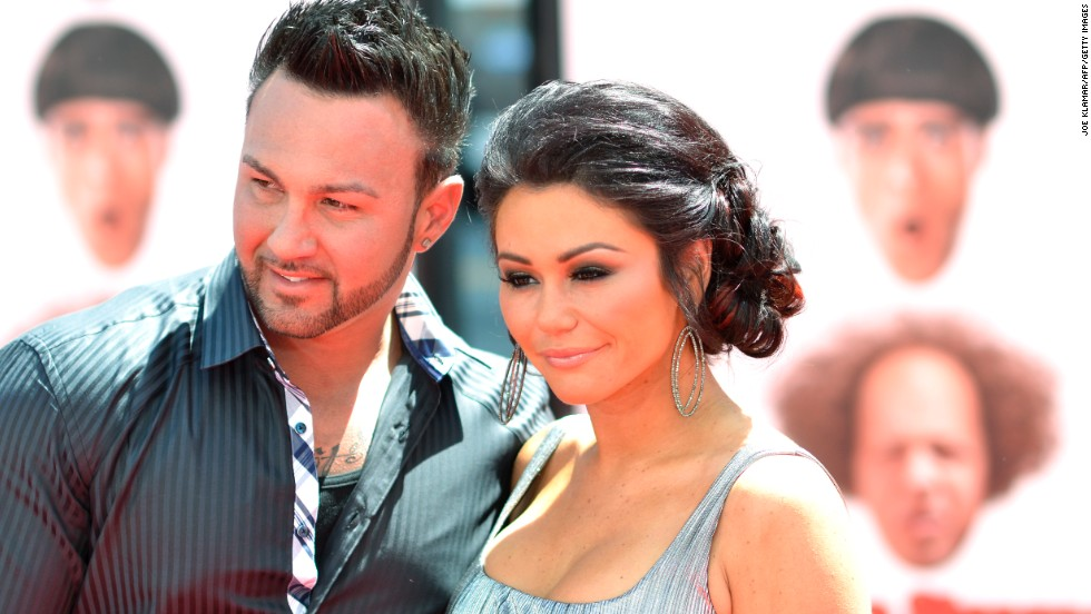 """Jersey Shore's"" Jenni ""JWoww"" Farley and partner Roger Mathews had a couple big announcements October 18: Not only did they tie the knot in New Jersey, they also announced that <a href=""http://www.eonline.com/news/707745/jwoww-is-pregnant-jersey-shore-star-and-roger-mathews-announce-baby-no-2-during-their-wedding-party"" target=""_blank"">Farley is pregnant with their second child</a>."