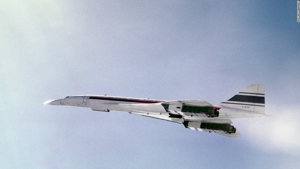 The Concorde, a supersonic jetliner, takes its first flight on March 2, 1969. Twenty Concordes were built between 1966 and 1979. All were retired in 2003.
