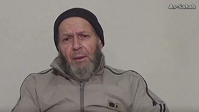 American held by al Qaeda sends plea to Obama