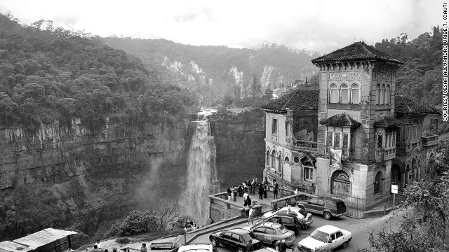 "The ""haunted"" hotel at Tequendama Falls."