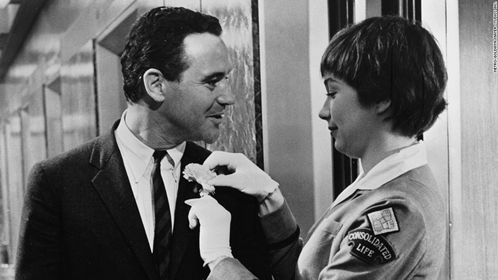 """<strong>""""The Apartment""""</strong> -- Shirley MacLaine's """"shut up and deal"""" is a little less clear than """"I hate you, Harry."""" When her character Fran Kubelik goes to the apartment of C.C. Baxter (Jack Lemmon) after ditching her married boyfriend/his boss, and the two drink champagne and play gin rummy, he tells her he loves her. But does she still see Baxter as just a friend? Is she giving him a cute response to deflect her lack of reciprocation? Or does she love him, too?"""