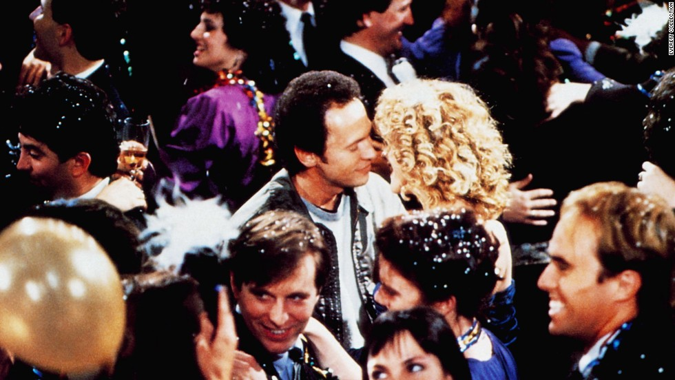 "<strong>""When Harry Met Sally""</strong> -- Harry Burns (Billy Crystal) party-crashes a lavish shindig so he can tell Sally Albright (Meg Ryan) that he loves her and wants to spend the rest of his life with her, just as the countdown to the New Year begins. ""You see, that is just like you, Harry,"" she says. ""You say things like that, and you make it impossible for me to hate you. And I hate you, Harry. I really hate you."" And of course, she means just the opposite."