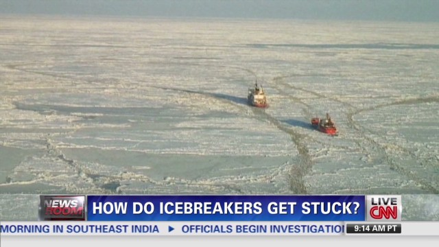 How do Icebreakers get stuck?