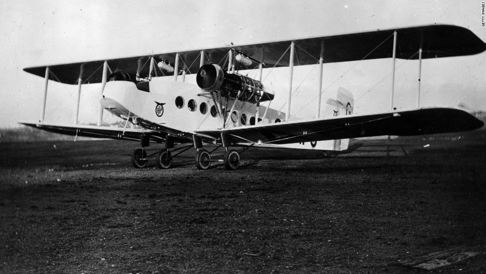 The Handley Page Pullman was a British-built passenger plane designed to compete with other London-to-Paris luxury services. A similar Handley Page plane, the HP-16, crashed December 14, 1920, just after taking off from London. Four of the eight people on board were killed in what is believed to be one of the first known crashes involving a commercial passenger plane.