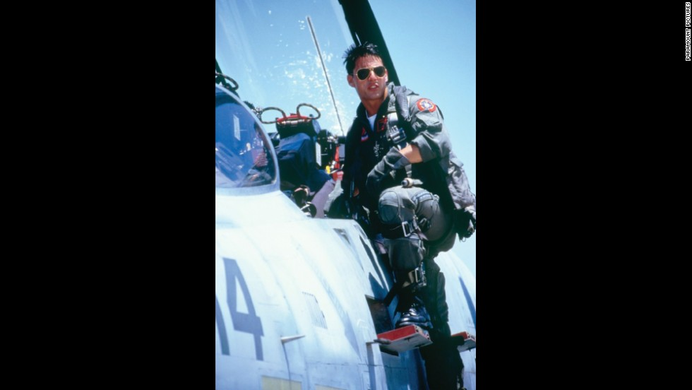 "<strong>""Top Gun""</strong> -- This fighter-jet action movie made Tom Cruise a global superstar while personifying the hawkish politics of the '80s."